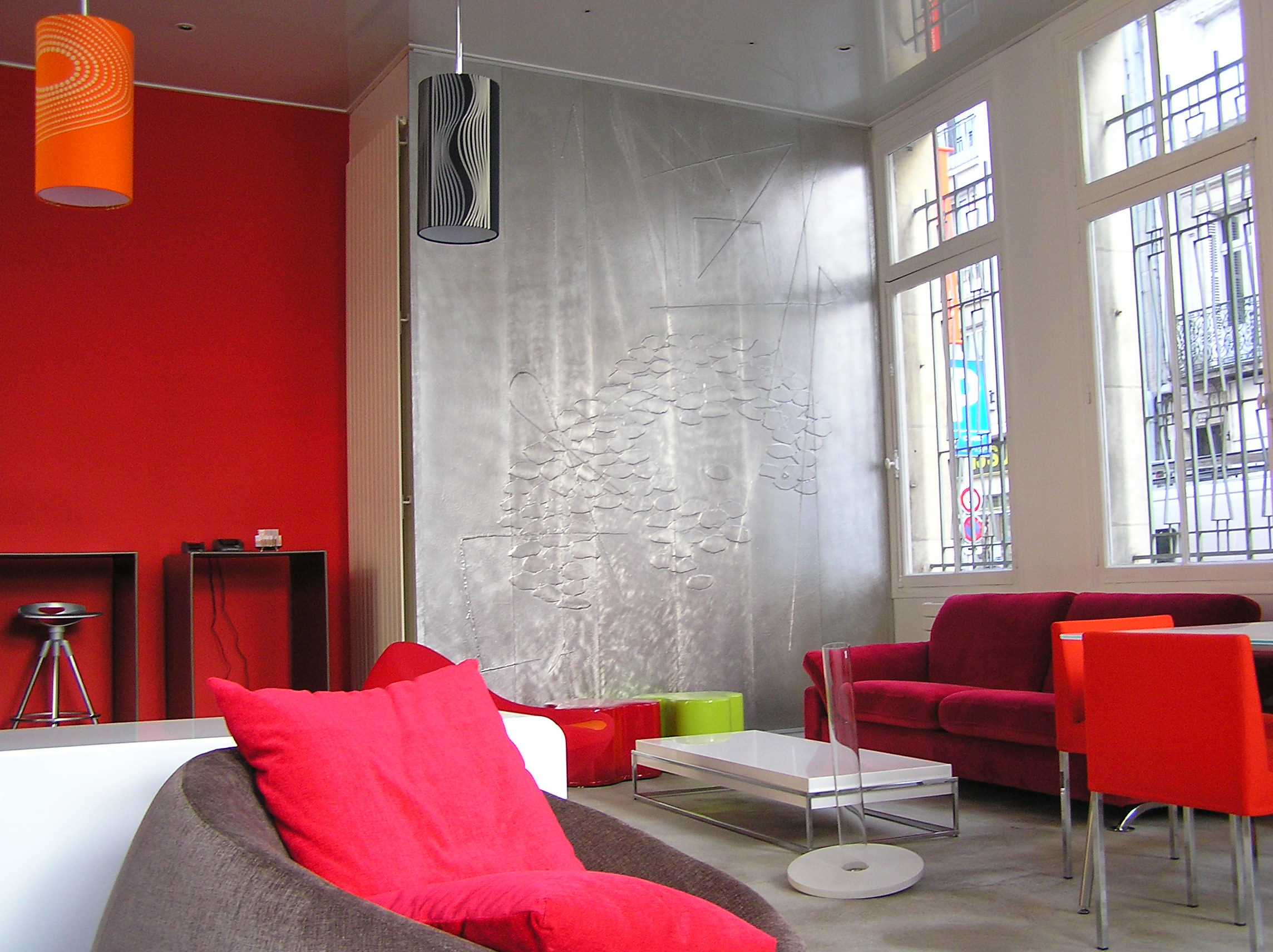 D coration contemporaine design mural en tain repouss d corateur - Photos de decoration ...